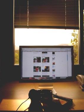 My workspace, Fall 2006-2