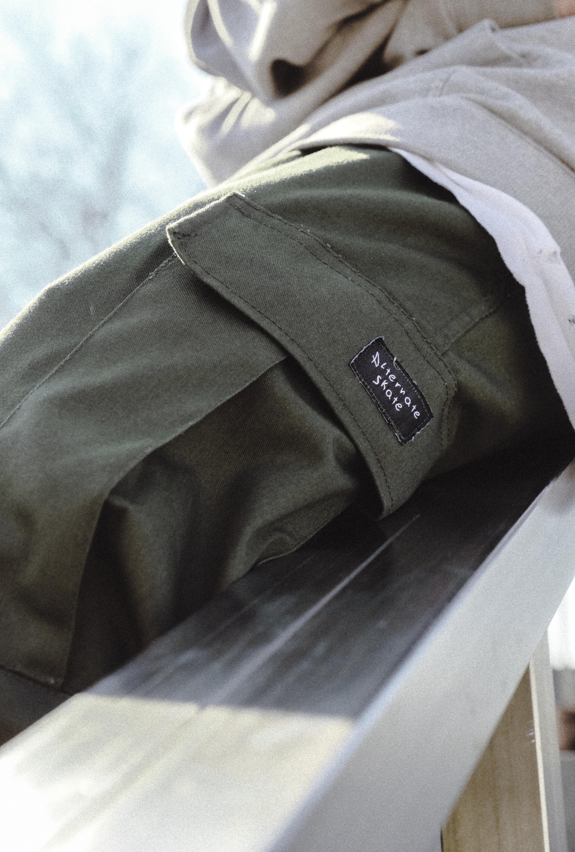 #SS20 Cargo Pants Green