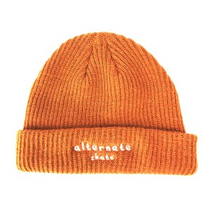 Beanie Front Caramel