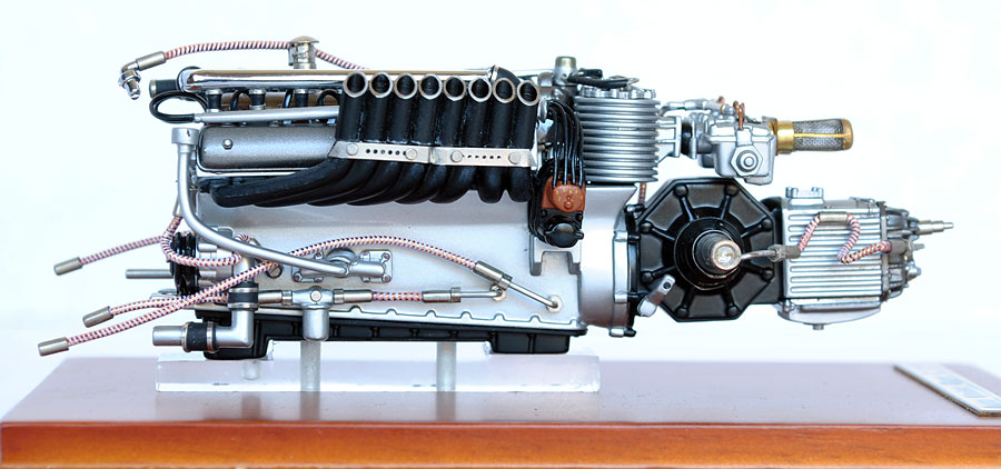 Alternate Supercars Cmc 118 Scale Auto Union Type C V 16 Engine
