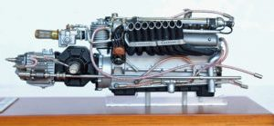 Auto Union V16 engine