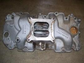 Corvette aluminum intake