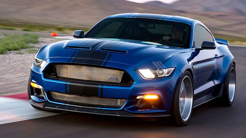 2017 Shelby widebody supersnake