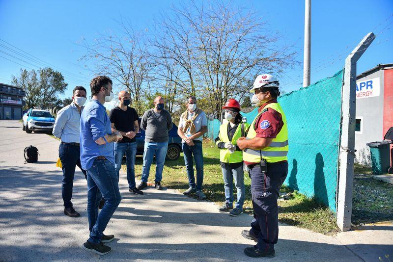 La Municipalidad de Escobar realizó mediciones de nivel sonoro y de calidad de aire en áreas cercanas a las dos termoeléctricas de Pilar