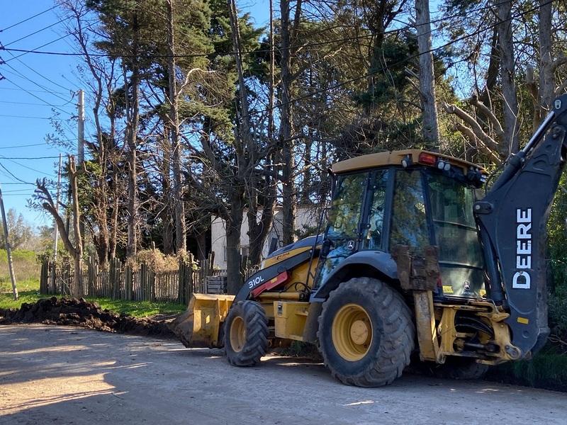 La Municipalidad de Escobar retoma obras  de pavimentación en distintas localidades del distrito