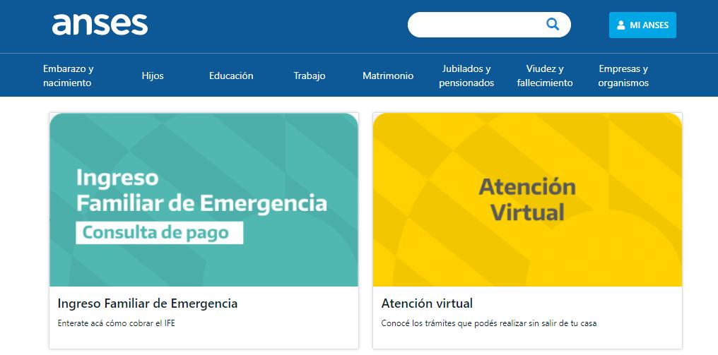 Ingreso Familiar de Emergencia, calendario del Tercer Pago
