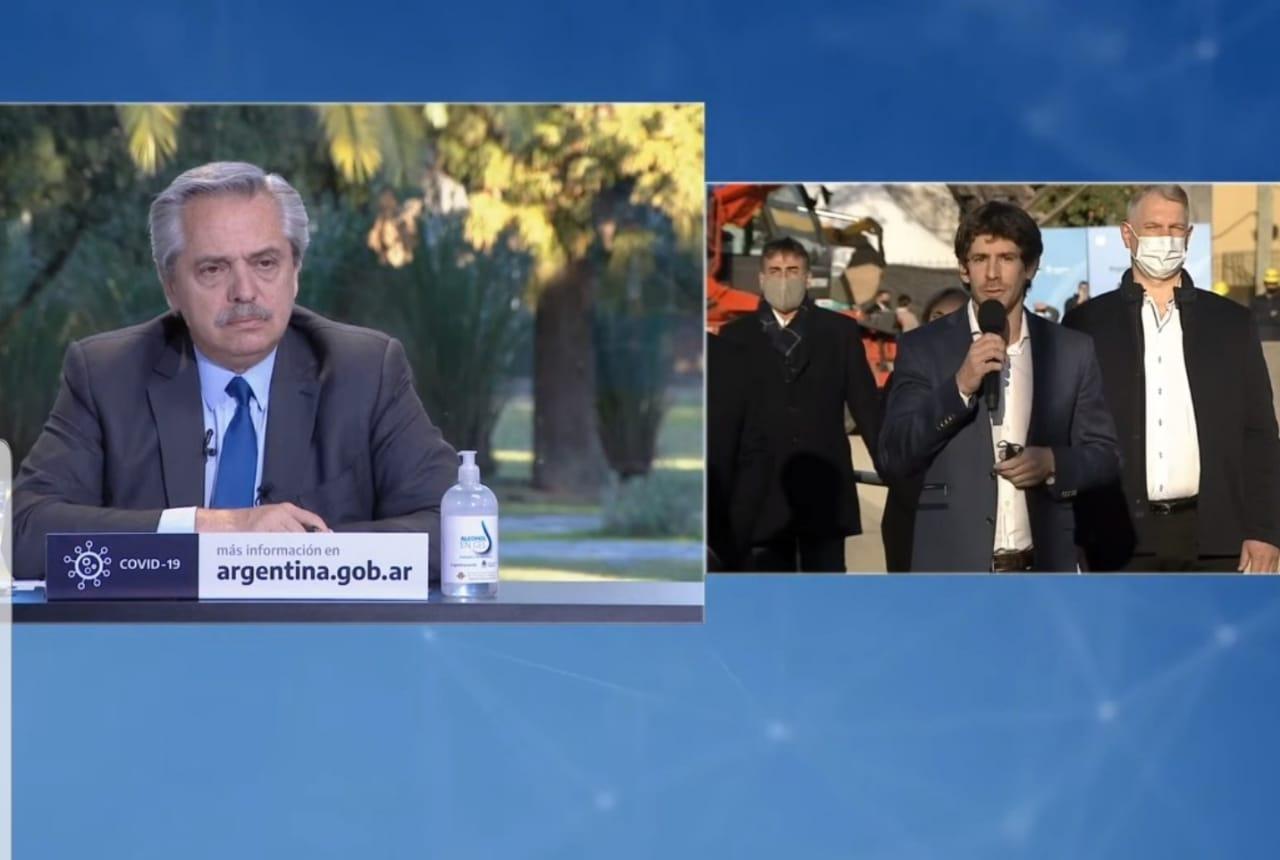 Juan Andreotti y Alberto Fernández anunciaron un Plan de Obras Ferroviarias para San Fernando, Escobar y Malvinas Argentinas