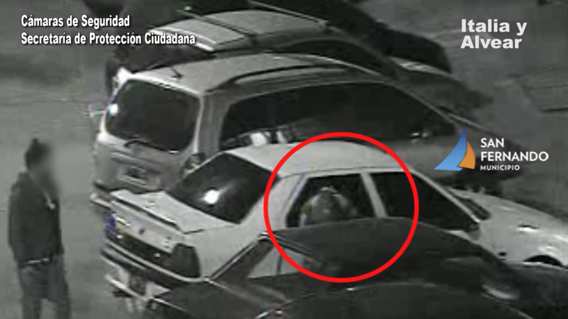 San Fernando: gracias a las Cámaras se detuvo a dos ladrones que intentaban abrir autos