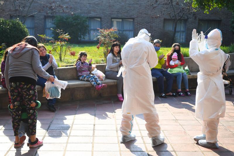 San Fernando también festejó el Día de las Infancias en el Centro de Aislamiento por coronavirus 'Casa de Retiros'