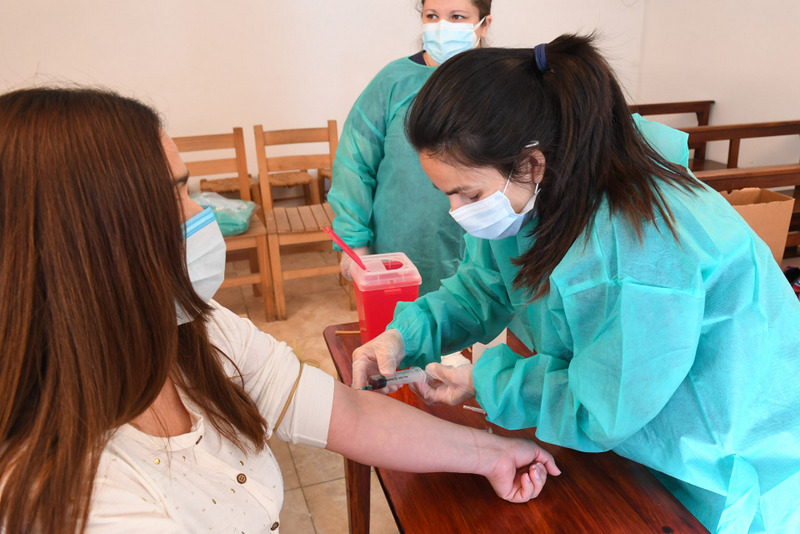 San Fernando acompañó un nuevo operativo para que puedan donar plasma vecinos dados de alta por coronavirus