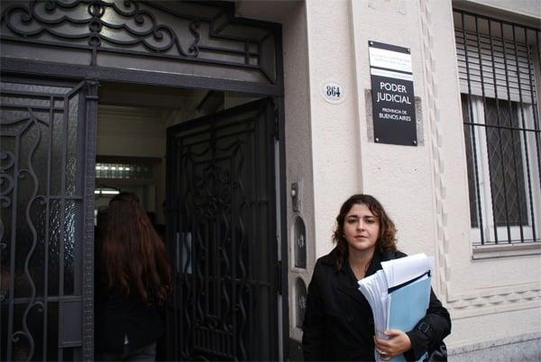 """Rocío Fernández: """"vecinos ganamos ante la Corte Suprema de Justicia de la Nación el juicio contra ABSA"""""""