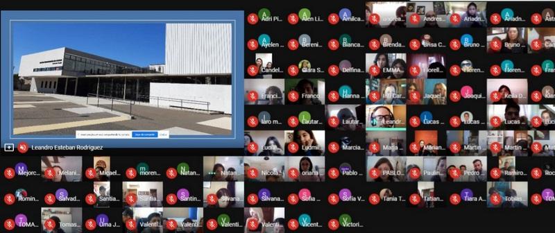 Colegio Ramón Cereijo, con más de 400 estudiantes comenzó el curso de ingreso bajo modalidad virtual
