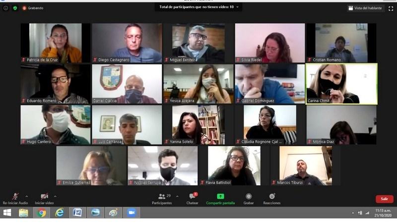El Concejo Deliberante de Escobar realizó reuniones de comisión en forma virtual y sesionará el próximo Viernes en el Teatro Seminari