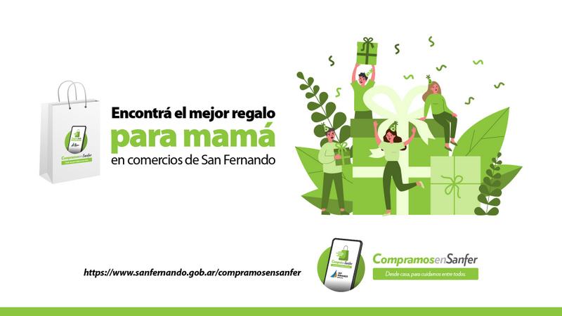 """San Fernando recuerda el uso de su plataforma online """"Compramos en Sanfer"""" para el Día de la Madre"""