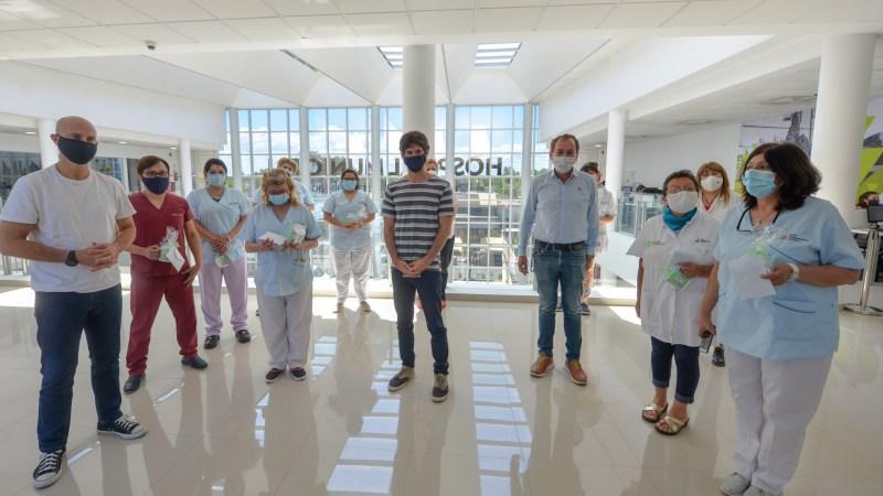 Juan Andreotti celebró el ´Día de la Enfermería´ reconociendo a profesionales de salud del Municipio