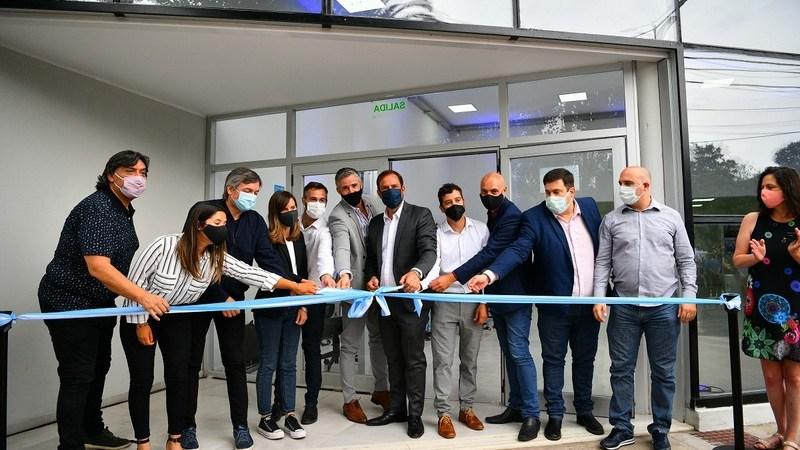 Junto a Fernanda Raverta y Máximo Kirchner, Ariel Sujarchuk participó del acto de inauguración  de la nueva oficina de atención integral de ANSES en Garín