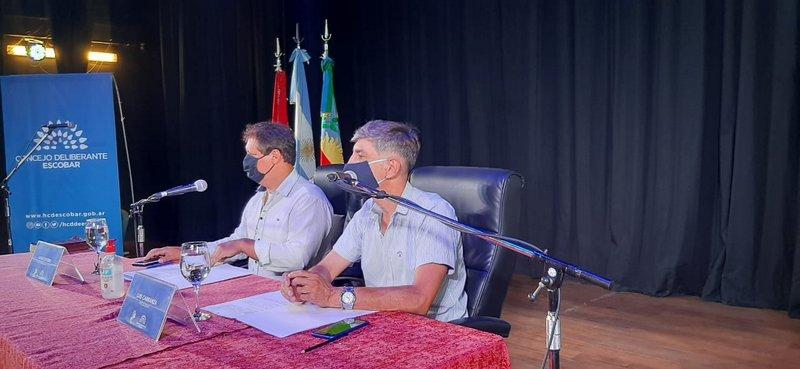 El Concejo Deliberante de Escobar, realizará la Segunda Sesión Ordinaria del año, en el Teatro Seminari