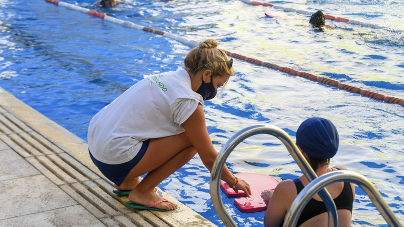Los Polideportivos de San Fernando siguen sus actividades deportivas con protocolos de prevención