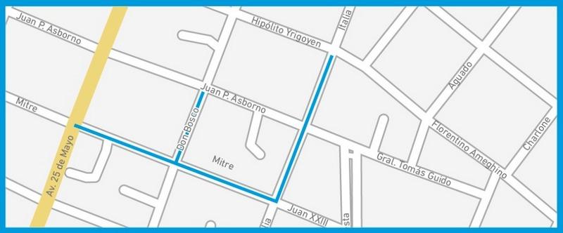 La Municipalidad dispondrá cortes de calle en Belén de Escobar por las obras de AySA para mejorar el servicio en toda la localidad
