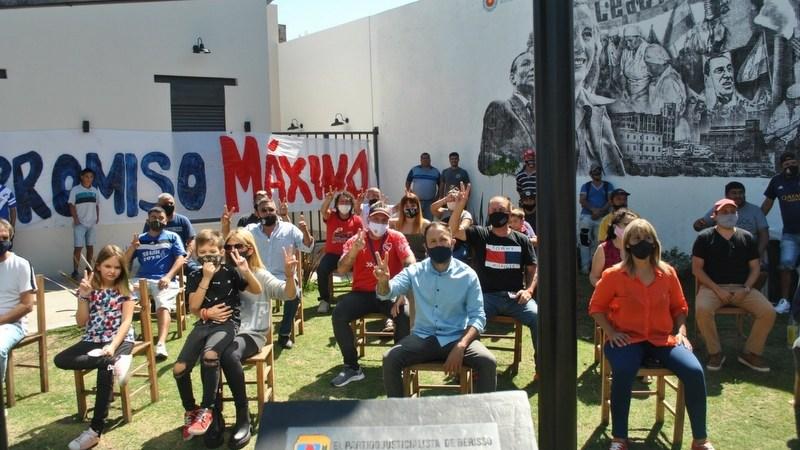 """Kompromiso Máximo realizó un acto por """"Memoria, Verdad y Justicia"""", en el 45° aniversario del Golpe Cívico – Militar."""