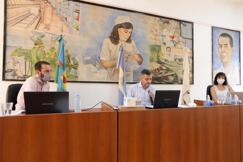 """Zabaleta abrió las sesiones ordinarias del HCD: """"Aprendimos que la solidaridad es lo único que puede salvar a nuestras sociedades"""""""