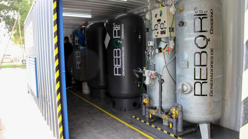 La Provincia implementó un plan para fortalecer la Provisión de Oxígeno