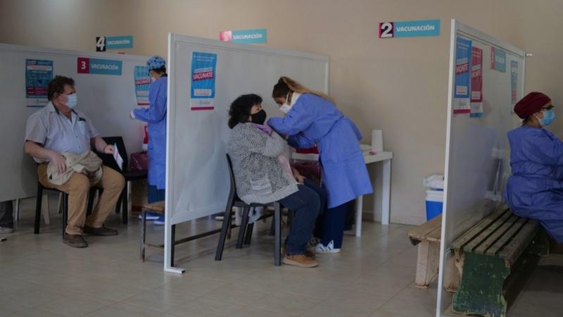 Exaltación de la Cruz, llegaron 500 Vacunas y la Campaña sigue