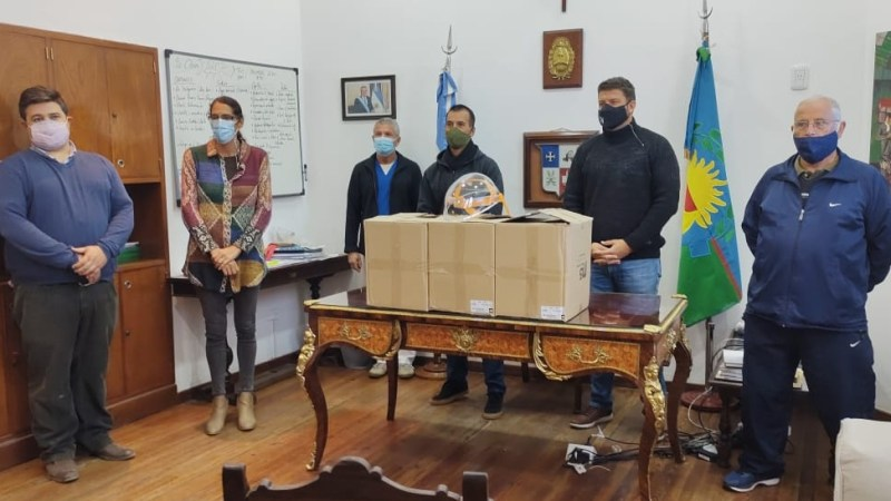El Rotary Club de Capilla del Señor donó Máscaras para el Personal de Salud