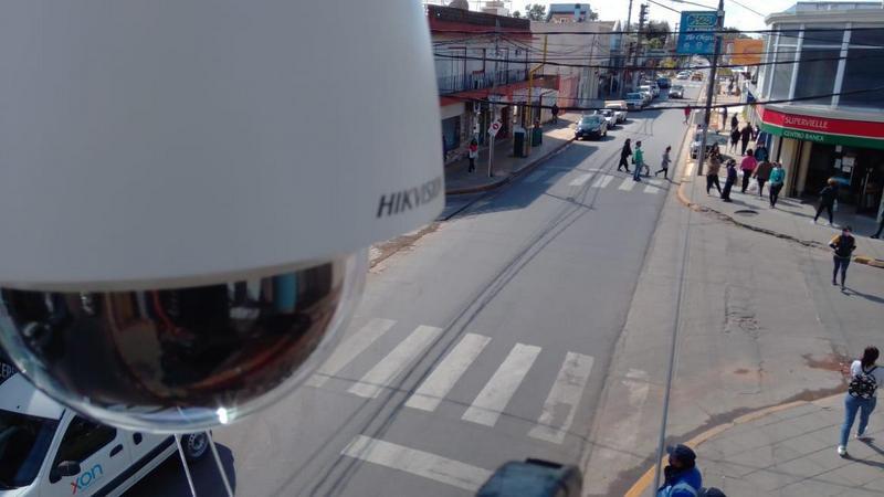 La Municipalidad de Escobar comenzó a instalar 500 nuevas cámaras de vigilanciacorrespondientes al Programa de Fortalecimiento de la Seguridad