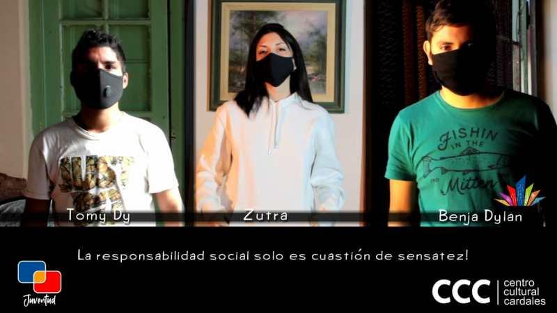 """Los Cardales : """" Nos cuidamos entre Todos"""" Trap de Acá"""