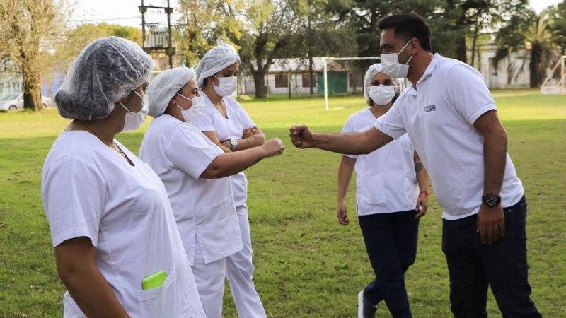 La vacunación sigue avanzando en Carmen de Areco