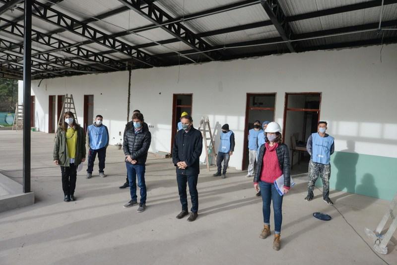 Juan Andreotti y Gabriel Katopodis recorrieron obras que se realizan en San Fernando