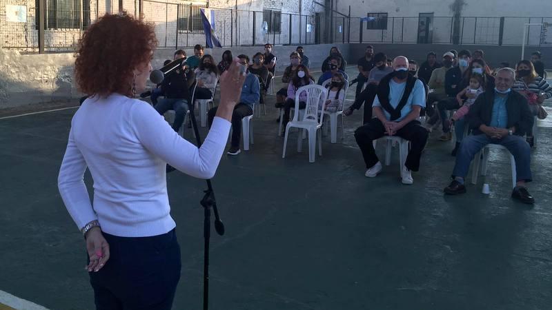 """Gladys Pollán: """" No tenemos que andar con el Peronómetro, tenemos que militar la Unidad"""""""