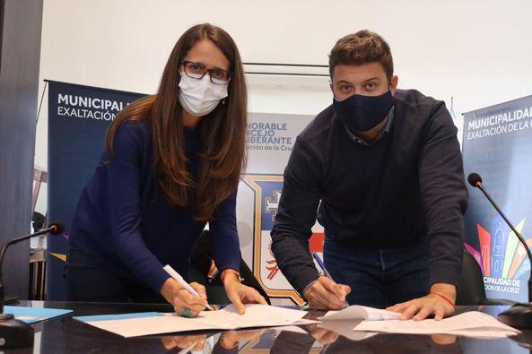Elizabeth Gómez Alcorta y Diego Nanni, pusieron en marcha un programa para acompañar a personas en situación de violencia de género