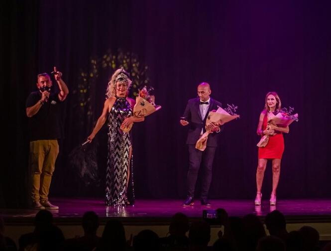 La Tía Gaucha, una estrella que dio sus primeros pasos en el Teatro Seminari Cine Italia y hoy brilla en la televisión