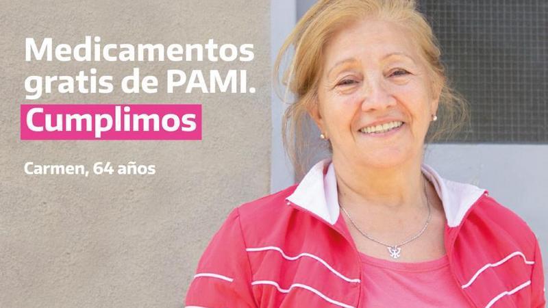 El Programa Medicamentos Gratis de PAMI alcanza a 3.500.000 personas que ahorran $4200