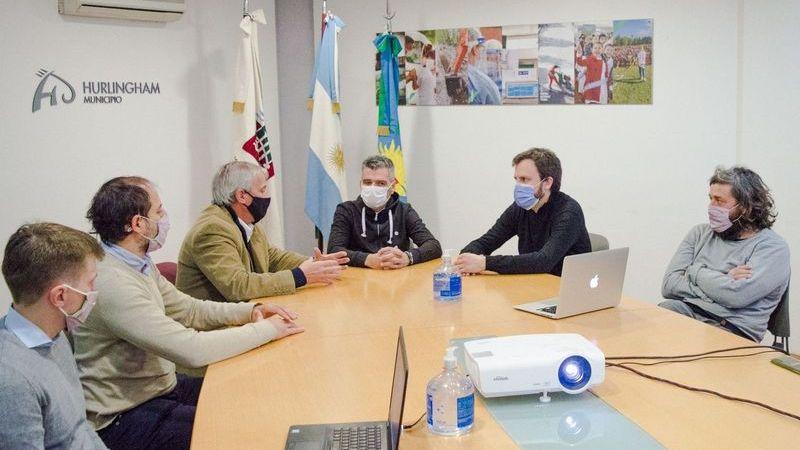 Zabaleta puso en marcha la plataforma de Gestión Documental Electrónica para agilizar trámites en el municipio de Hurlingham