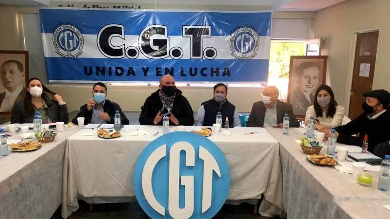 Reunión de Trabajo de la CGT Zona Norte y funcionarios del ministerio de Trabajo de Nación y Provincia.