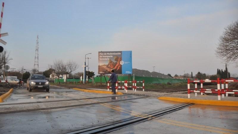 Los Cardales, ya está habilitado el paso a nivel de la calle Alsina