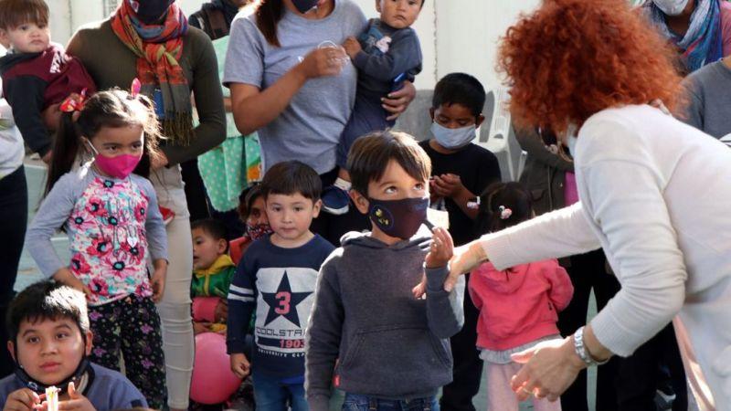"""En Rincón de Milberg, los chicos disfrutaron el """"Día de las Infancias"""""""