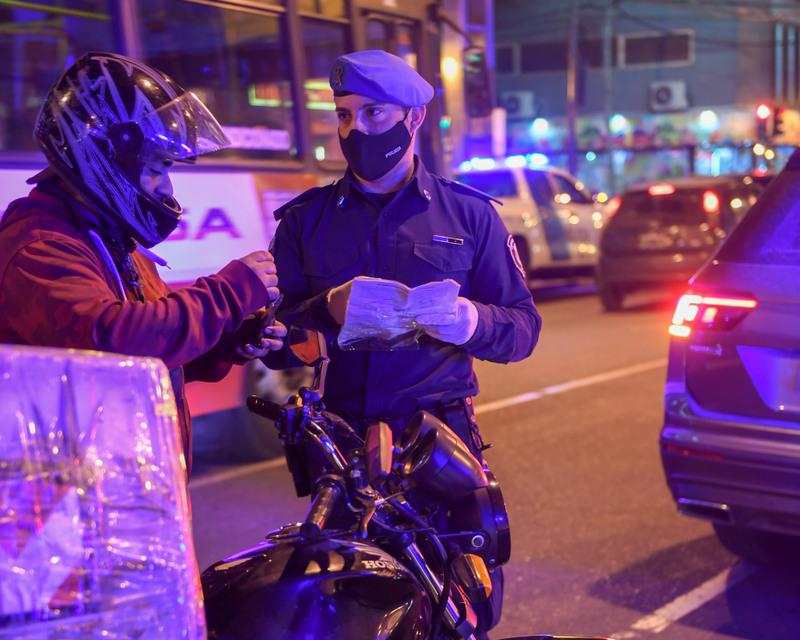 Municipio y Policía continúan realizando operativos de control vehicular en todo San Fernando