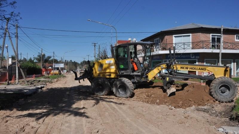 Los Cardales, continúa la segunda etapa de la Avenida Belgrano