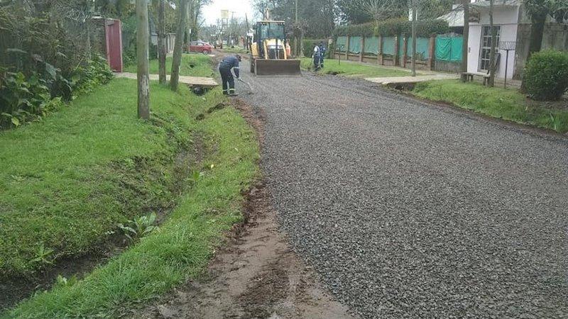 Continúan los trabajos de mejora y mantenimiento del espacio público en todas las localidades del partido de Escobar