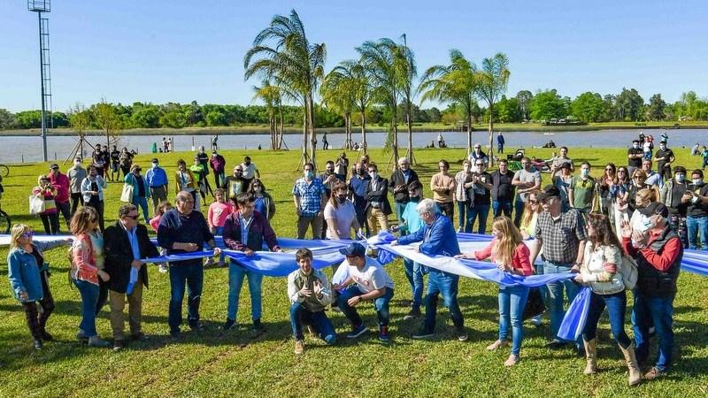 Juan Andreotti inauguró la ampliación del Parque Náutico