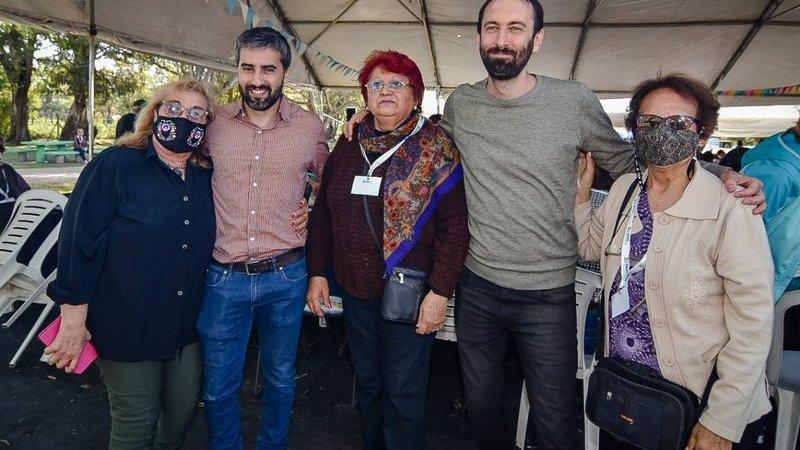 Martín Rodríguez encabezó el festejo por el Día del Jubilado en Hurlingham organizado por PAMI