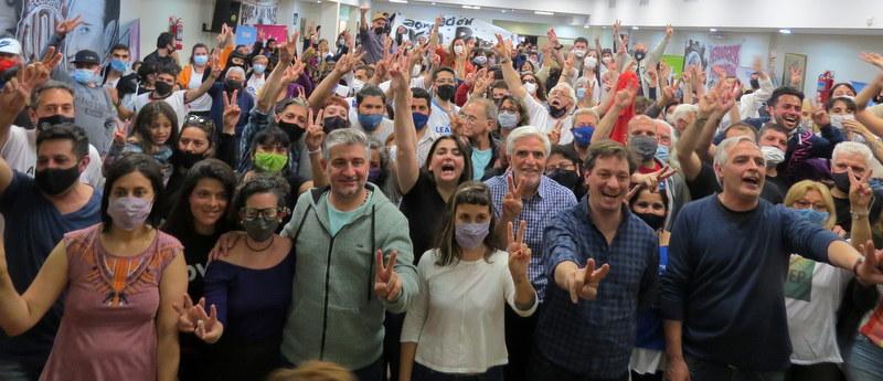 """Sofía Vannelli: """"Si hay algo que no hay, son militantes que se dan por vencidos"""""""