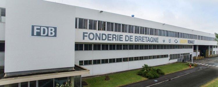 Soutien aux salariés de la Fonderie de Bretagne