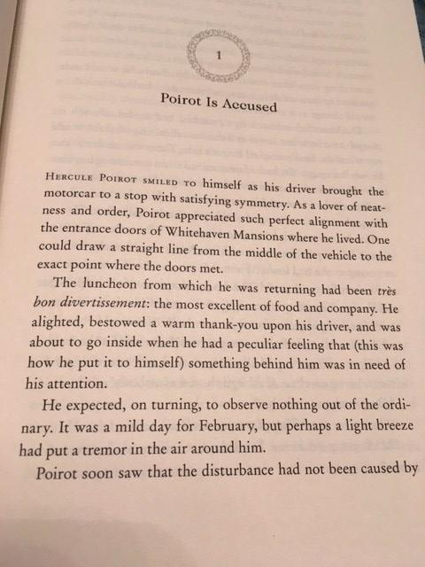 Teaser - Agatha Christie The Mystery of Three Quarters by Hannah Sophie   Alternative-Read.com