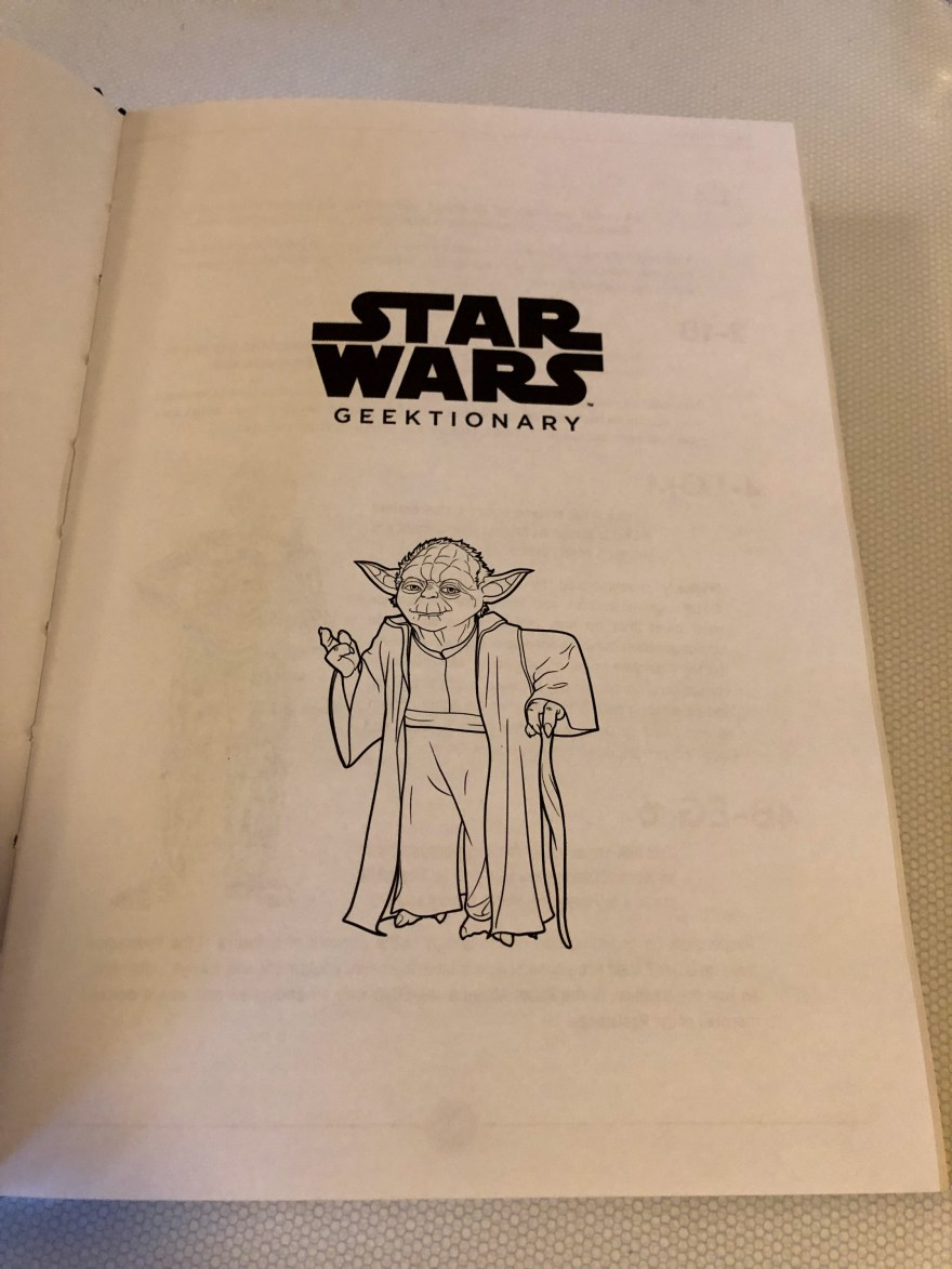 Star Wars Geektionary on Alternative-Read.com