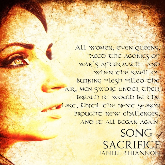 #BookBlitz Song of Sacrifice (Homeric Chronicles, #1)  with #author  Janell Rhiannon @theravenangel +INTL Giveaway! @XpressoRead